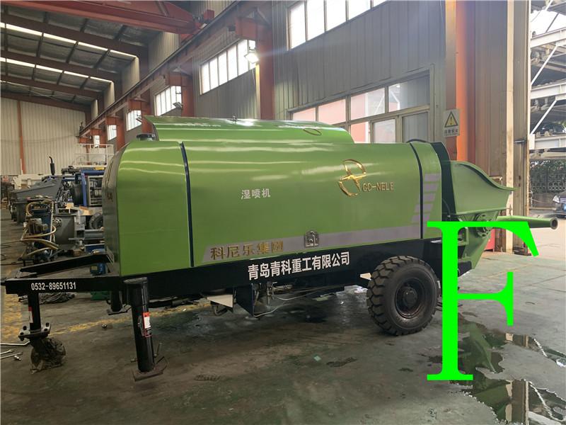 混凝土泵 青科重工 湿喷机