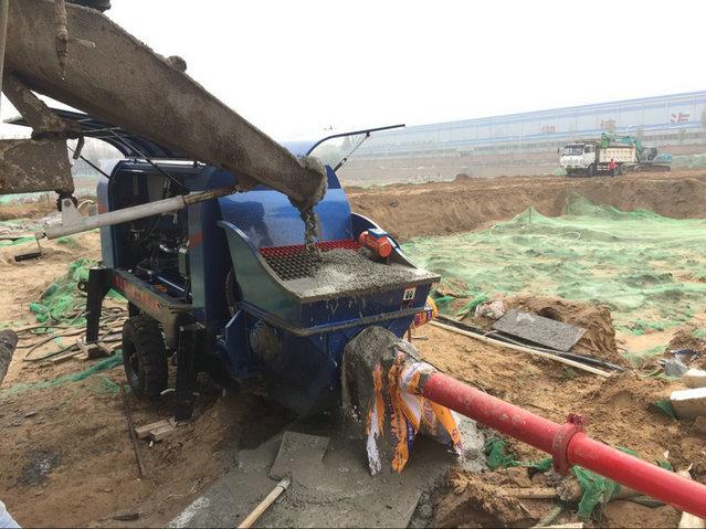 细石泵 混凝土输送泵