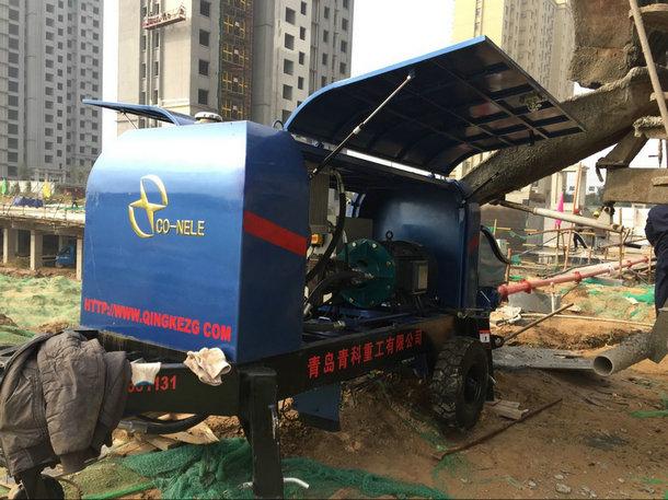 混凝土细石泵,混凝土输送泵