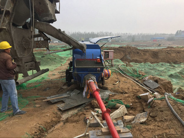 混凝土细石泵,青科重工,混凝土输送泵,细石泵
