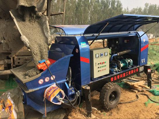 混凝土输送泵,细石泵,混凝土细石泵