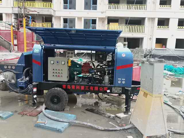 细石泵,混凝土输送泵