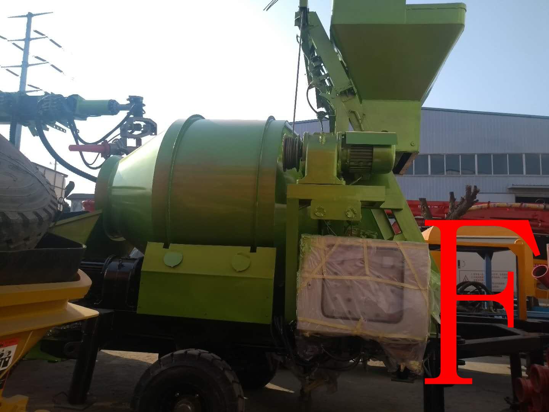 青科重工 混凝土泵 搅拌机